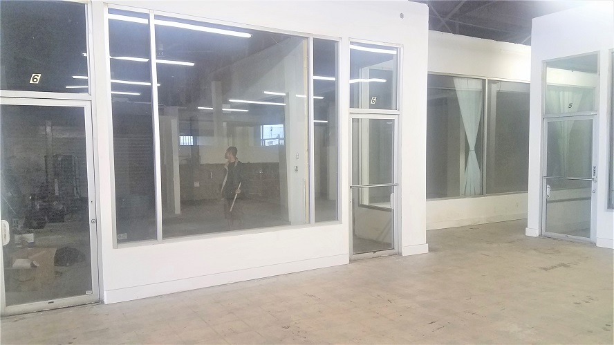 Month to month rentals at swap meet open market style space with warehouse looking style!