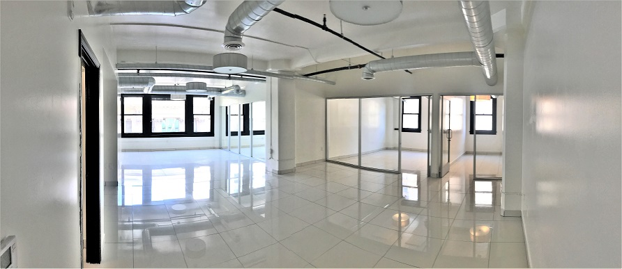 Creative work lofts for lease in downtown Los Angeles