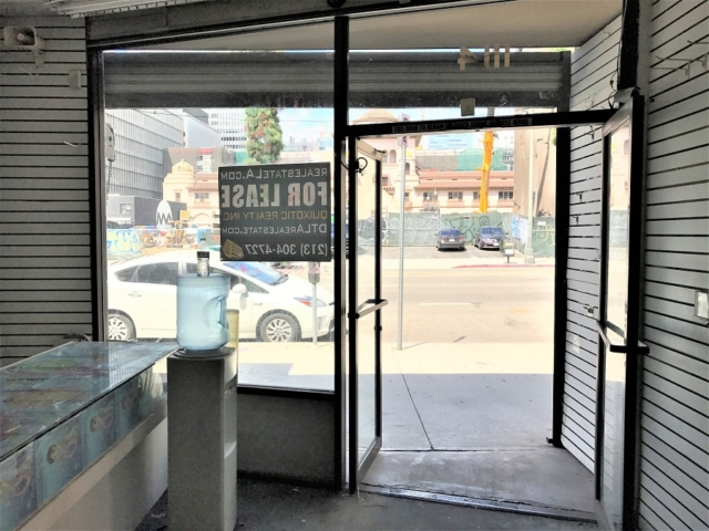 1114 S Main St DTLA retail space for lease Los Angeles