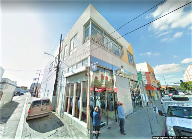 212 E Pico Blvd - commercial real estate in the Fashion District for Lease
