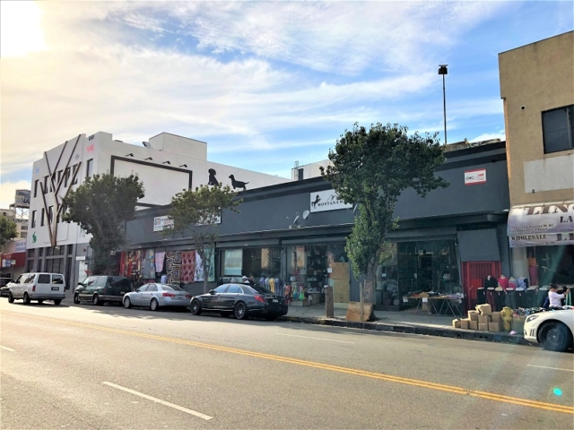 DTLA warehouse space for lease Los Angeles
