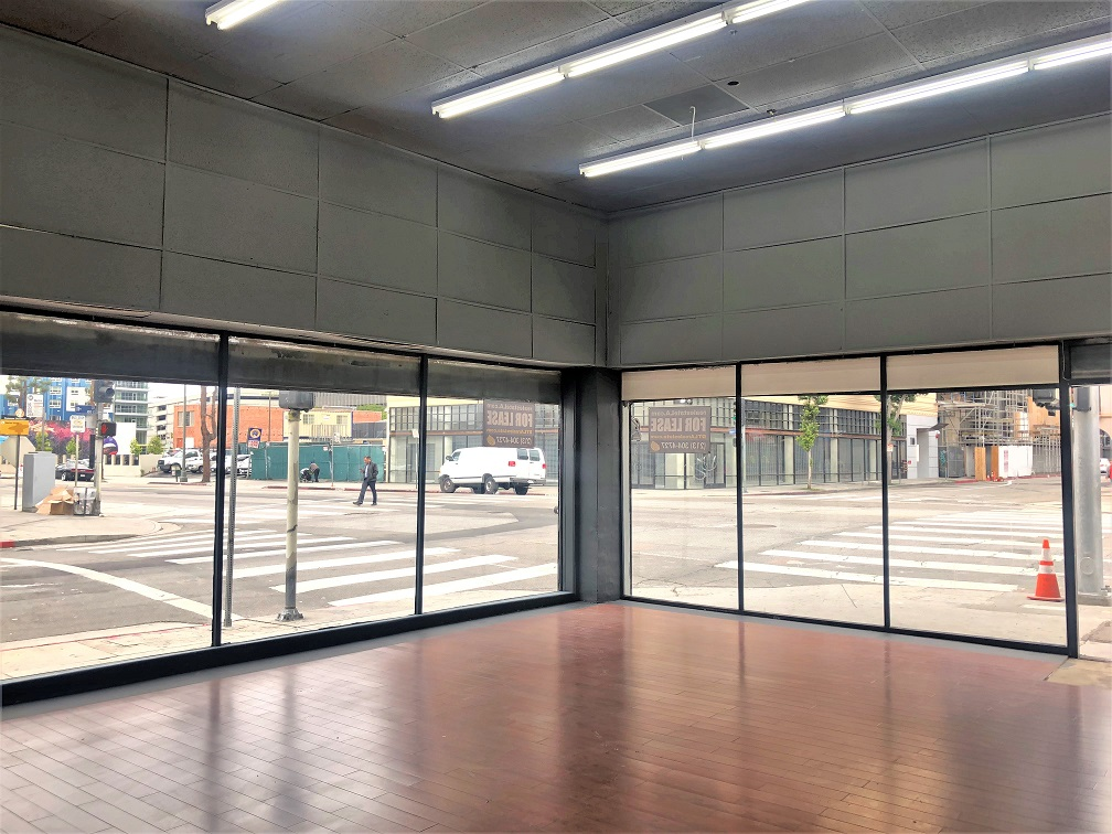 Los Angeles retail space in DTLA