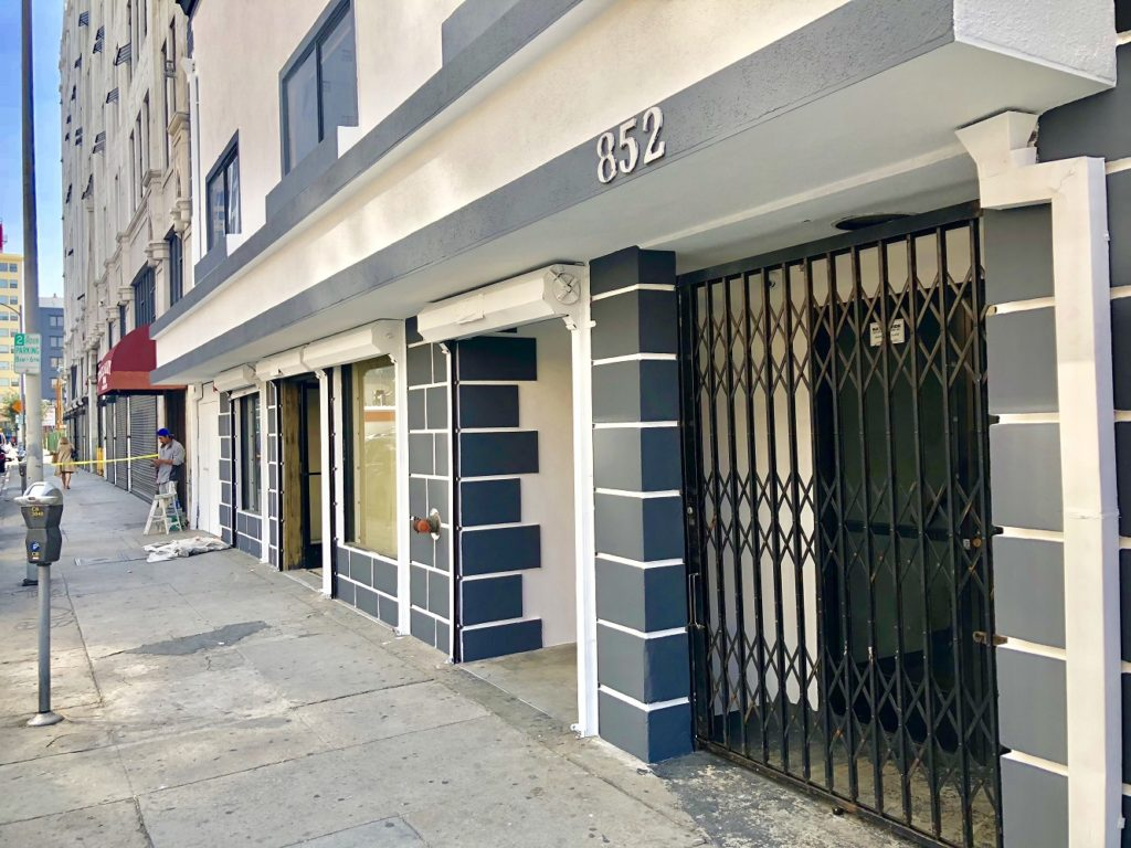 DTLA retail space for lease Los Angeles