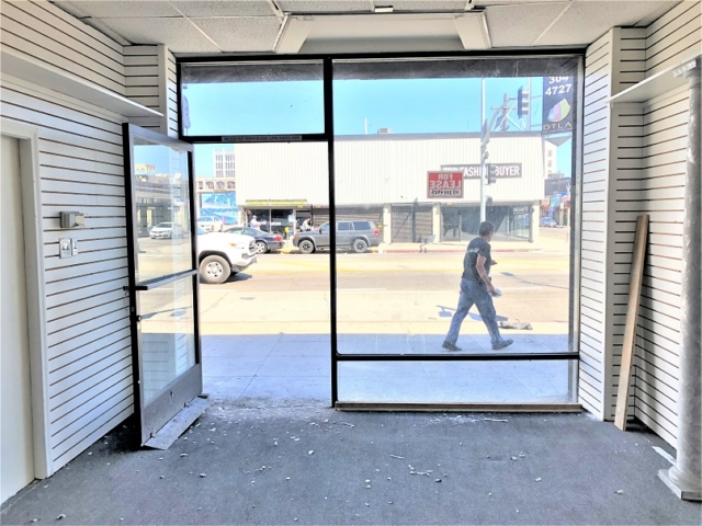 Downtown LA retail property for lease Los Angeles