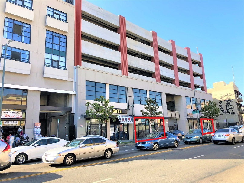 Los Angeles St Retail Space for Lease