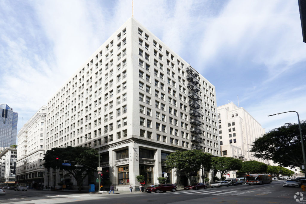 DTLA office for lease Los Angeles
