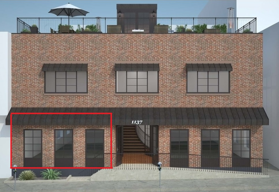 Los Angeles small retail space for lease DTLA